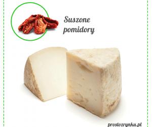 Ser Pecorino z Suszonymi Pomidorami - Włochy, ok. 200-250g