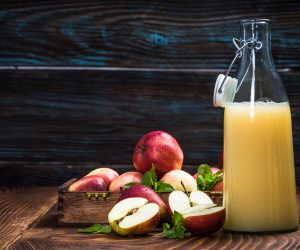 Sok tłoczony 100% Jabłko - Malina 2l