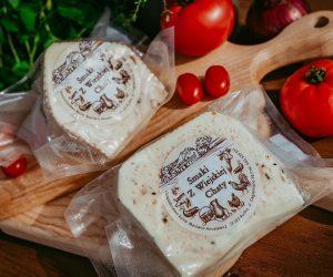 Ser podpuszczkowy pomidor/bazylia - ok 300-350g